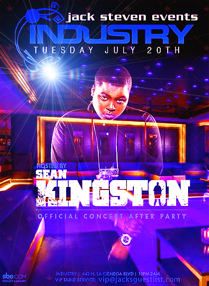Sean-Kingston-Industry