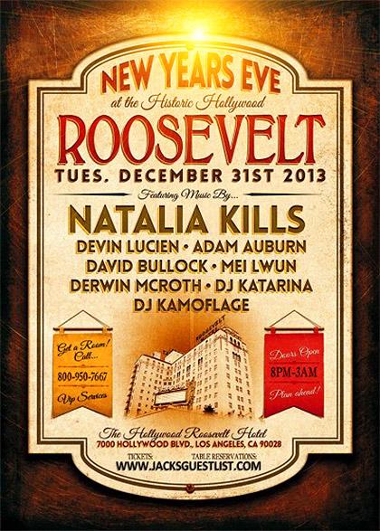 NYE Roosevelt LA