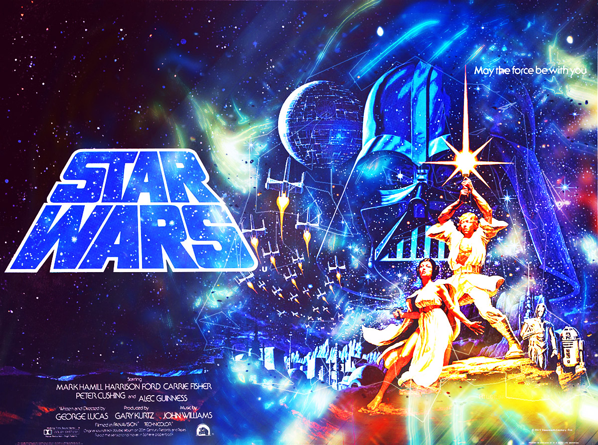 Star Wars Episode Iv A New Hope 1977 Idea2dezign Creative Digital Design Space