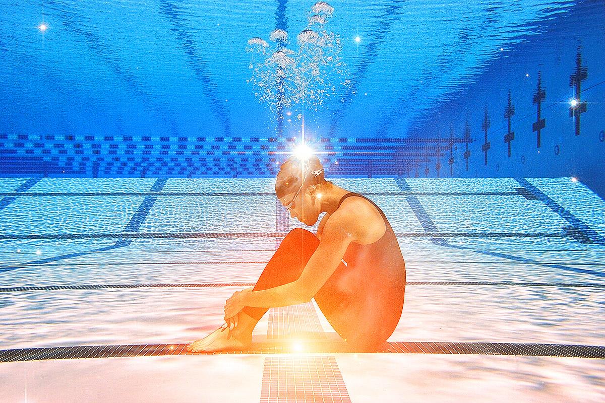 ... Olympic Swimming Underwater