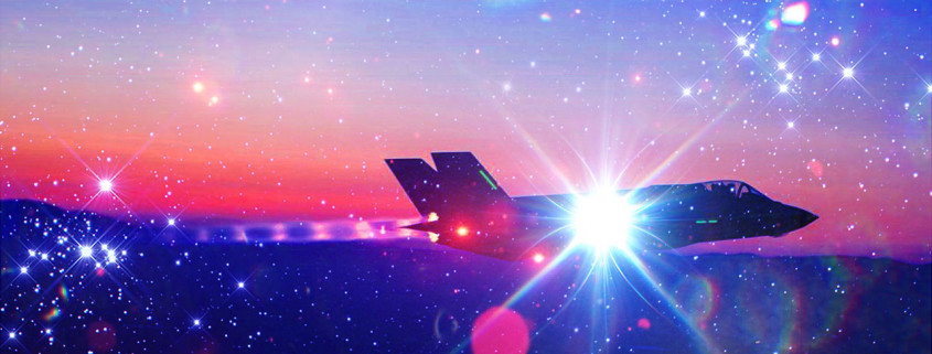 F35-Force-Night-Fly-Testing