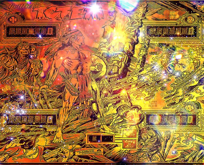 Gottlieb-Totem-Pinball-Machines-Design